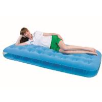Nafukovací postel Air Bed Fashion jednolůžko 186 x 76 x 22 cm azurová