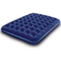 Nafukovací postel Air Bed Klasik dvoulůžko 191 x 137 x 22 cm modrá