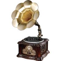 Retro gramofon s CD RP-013C