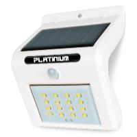 Nástěnné solární LED světlo s detektorem pohybu bílá