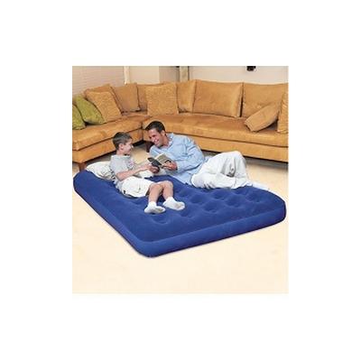 Nafukovací postel Air Bed dvoulůžko modrá