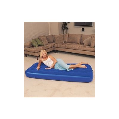 Nafukovací postel Air Bed jednolůžko modrá
