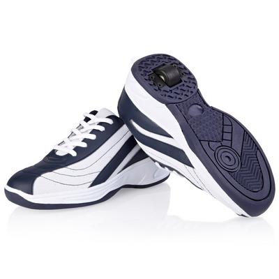 Jezdící boty bílo-modré
