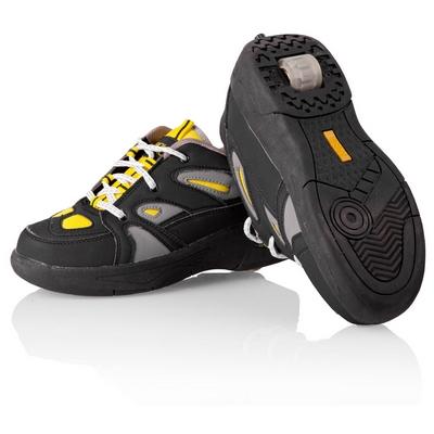 Jezdící boty černo-žluté