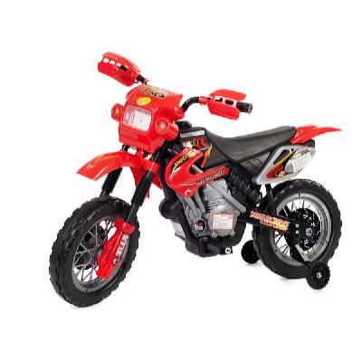 Dětská motorka Enduro červená