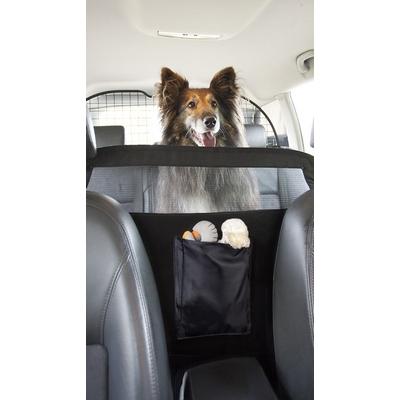 Psí zábrana mezi autosedačky