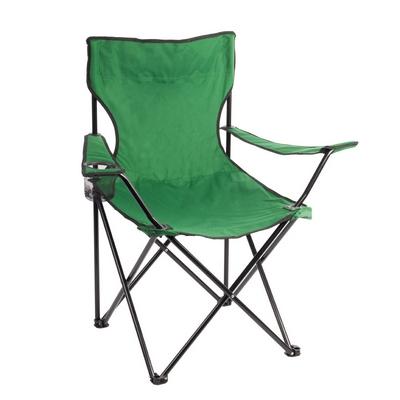 Kempingová_židle_zelená