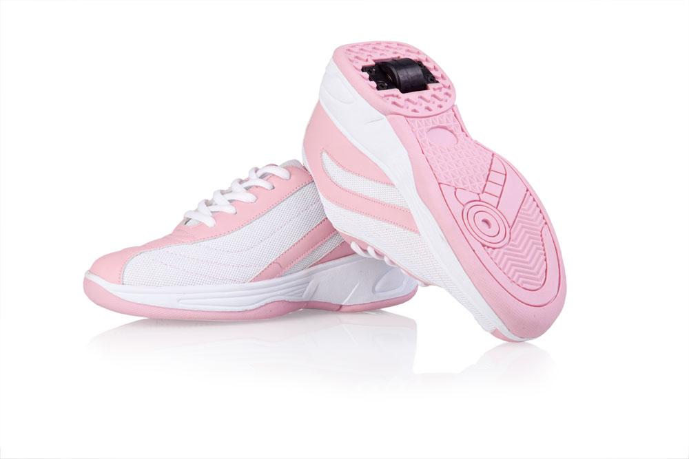 62cc3140055 Jezdící boty bílo-růžové