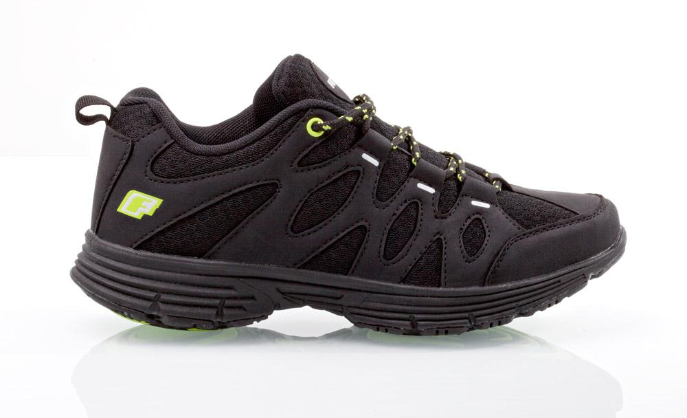 7ba7d4a6886 Sportovní obuv Fit Walk černo-zelené 43