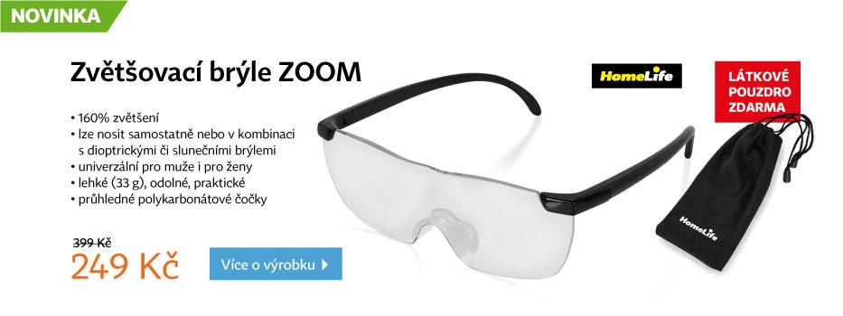 Zvětšovací brýle ZOOM